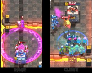 Clone vs Rage