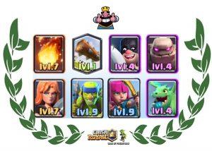 Champion's deck