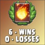 Fireball challenge: 6 wins in a row (deck, tactic tips, reward)