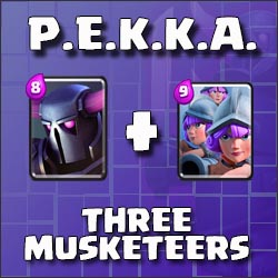 PEKKA and Three Musketeers