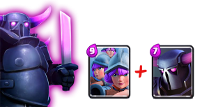 PEKKA and 3 Musketeers