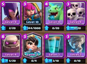 Great Golem deck Arena 9
