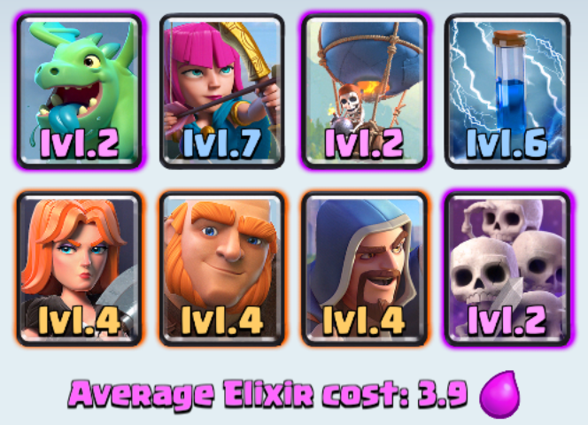 The best deck for arena 6 ever