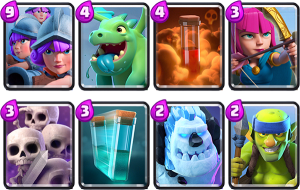 Arena 8 3 musketeers deck