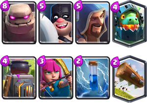 Deck for Golem And Inferno dragon