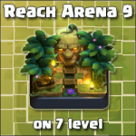 How to reach Arena 9, being only a 7 level player (deck and tactic tips)…