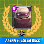 Arena 9: Great deck for Golem!