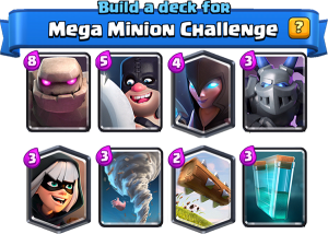 Megaminion challenge deck