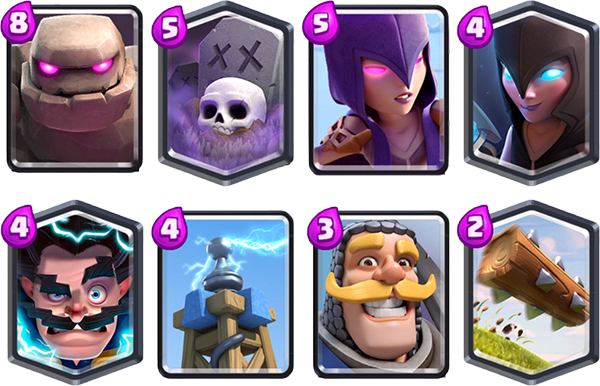 Best deck Knight Challenge