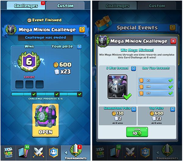 Megaminion challenge 6-0
