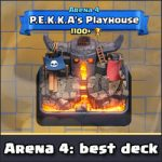 Arena 4: The best Giant Skeleton deck (no legendary cards)