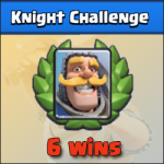 Knight Challenge: 6-1 (unbeatable deck and tactic tips)