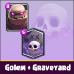 Golem and Graveyard – an incredible attacking power!