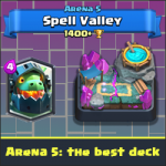 Arena 5: the best deck with Inferno Dragon