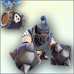 Arena 11: Excellent deck with Mega Knight, Skeleton Barrel and Miner!