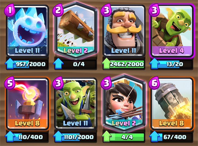 Log Bait deck