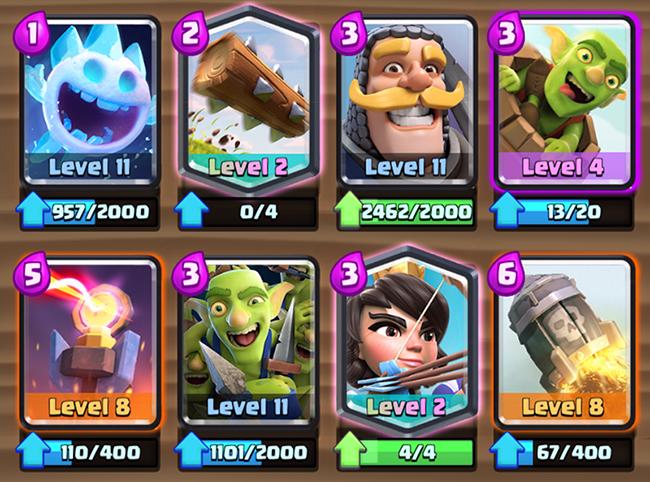 Log Bait deck