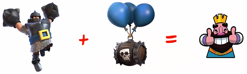 Mega Knigth and Skeleton Barrel
